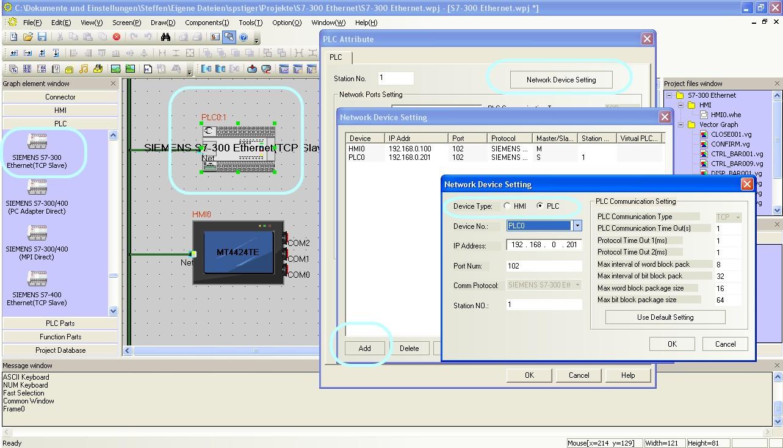 Kinco S7-300-Ethernet