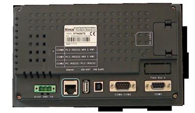 Ethernet-Anschluss am Kinco HMI