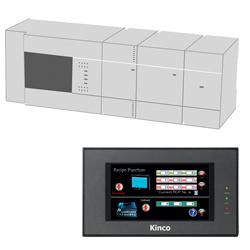 Mitsubishi FX und Kinco HMI MT4220TE