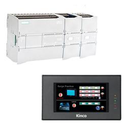 Siemens S7 1200 und Kinco HMI MT4220TE